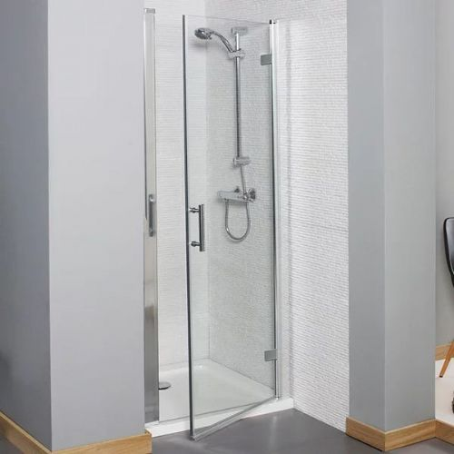 Kartell Koncept Hinged Shower Door - 800mm Wide - 6mm Glass